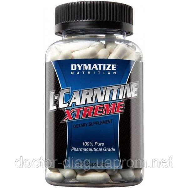 Dymatize Жиросжигатель Dymatize L-carnitine Xtreme, 60 капс.
