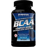 Dymatize Аминокислоты Dymatize BCAA Complex 2200, 200 таб.