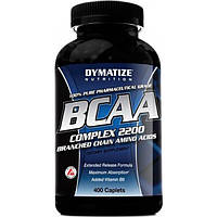 Dymatize Аминокислоты Dymatize BCAA Complex 2200, 400 таб.