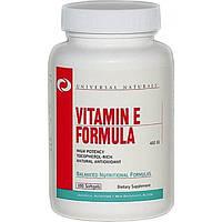 Universal Nutrition Мультивитаминный комплекс Universal Nutrition Vitamin E Formula 100 Softgels