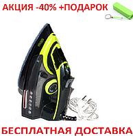 Утюг с отпаривателем DSP KD1004-GF керамическая подошва 2000W Original size + powerbank