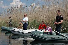 Двух- и трехместные надувные лодки Барк
