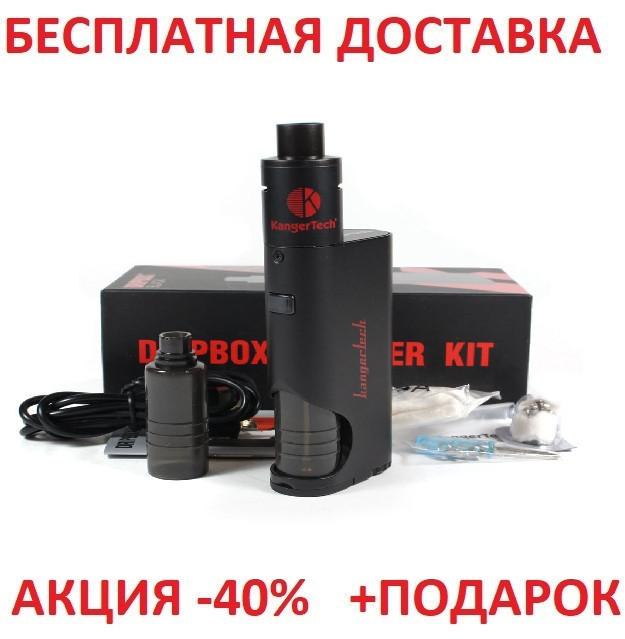 Электронная Сигарета KangerTech DRIPBOX STARTER kit 60W Silver