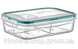 Контейнер Fresh Box 3 відсіку 0,5 л+0,25 л+0,25 л прозорий