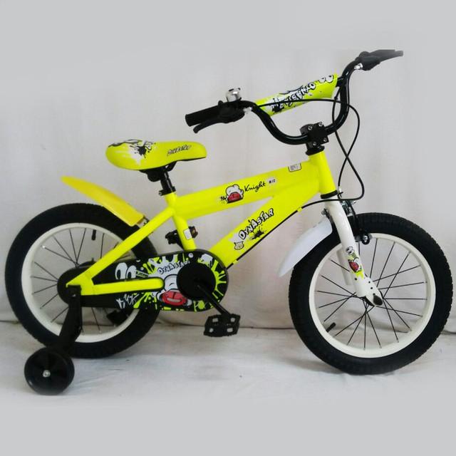 велосипед dynastar 16 желтый красный