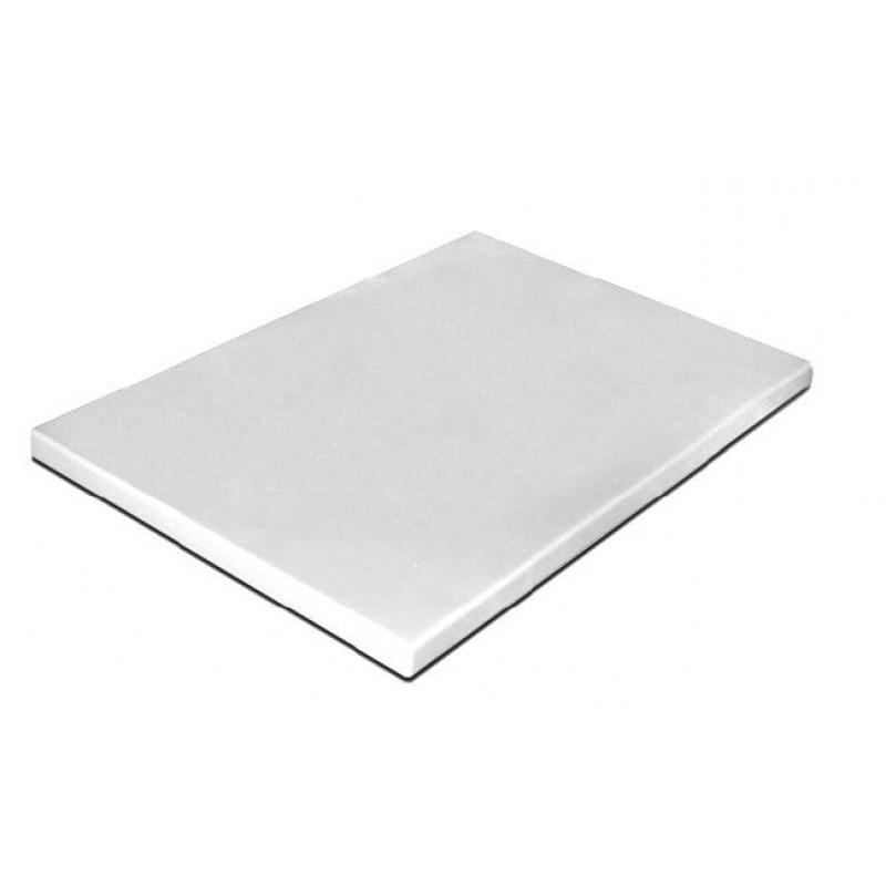 Разделочноя доска 400х300х20 мм Durplastics белая PE5NT40302