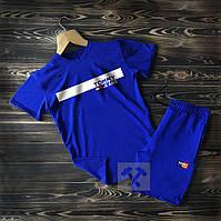 Футболка + Шорты! Комплект летний повседневный Tommy x Blue, фото 1