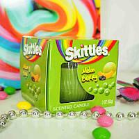 Ароматическая свеча Skittles Melon Berry 85 g