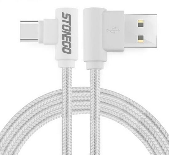 Кабель USB Type C угловой