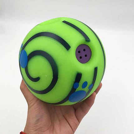 Игрушка для собак | Хихикающий мяч для собак | Wobble Wag Giggle, фото 2