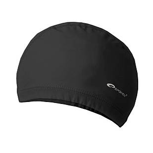 Шапочка для плавания Spokey Torpedo для взрослых Onesize Черная (s0262)