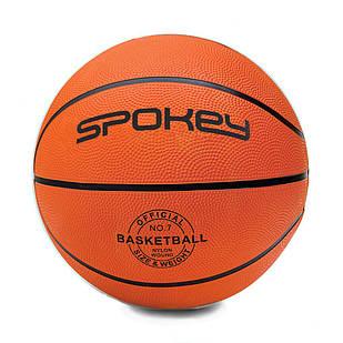 Баскетбольный мяч Spokey CROSS размер 7 Orange-Black (s0261)