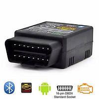 Автомобильный сканер OBD2 адаптер ELM327 Bluetooth
