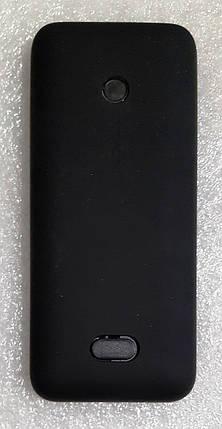 Корпус для Nokia 208 black (без клавіатури), фото 2