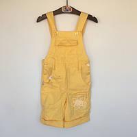 Полукомбинезон для девочки Бемби Украина жёлтый КС 157