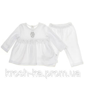 Костюм для девочки для крещения (Bembi)Бемби Украина белый КС525