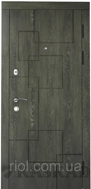 Дверь входная Квадро серии Классик ТМ Каскад