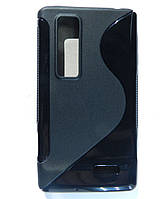 Чехол TPU S формы на LG Optimus 3D Max P720
