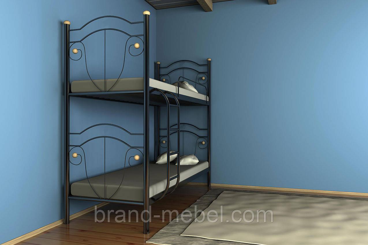 Кровать Діана 2 на металевих ніжках / Кровать Диана 2 на металлических ножках