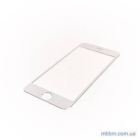 Защитное стекло iPhone 6 3D metal silver, фото 2