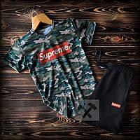 Летний комплект Supreme футболка+шорты. Можно отдельно