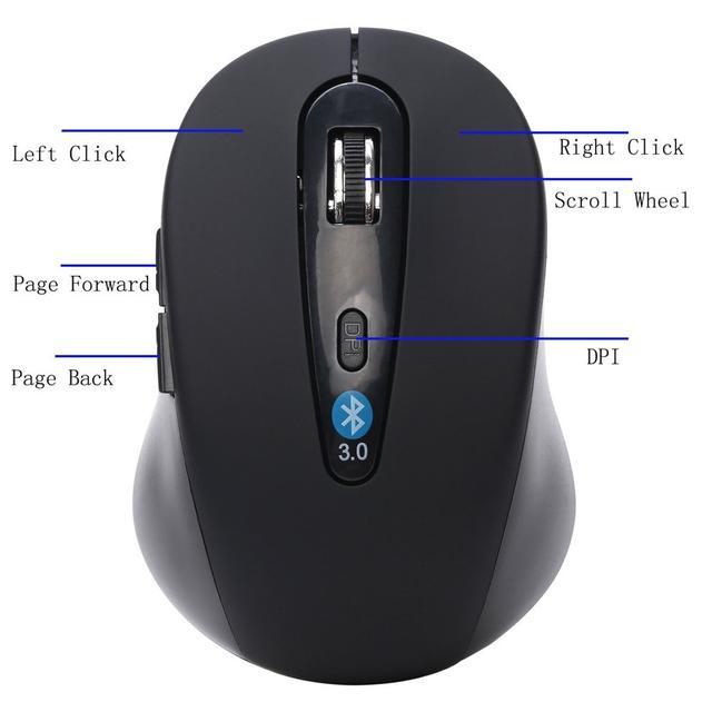 Беспроводная bluetooth мышь оптическая