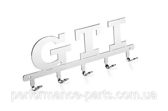 Металлическая вешалка для ключей ключница Volkswagen GTI Key Hanger, Metall, артикул 5KA087703