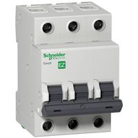 Автомат EZ9F34363 3Р, 63А, х-ка C cерия  Easy 9 Schneider Electric, 20383