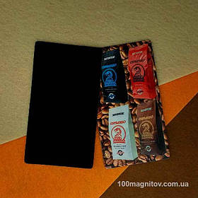 Рекламные магниты визитки. Размер 90х50 мм 2