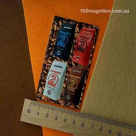 Рекламные магниты визитки. Размер 90х50 мм 1