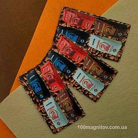 Рекламные магниты визитки. Размер 90х50 мм 5