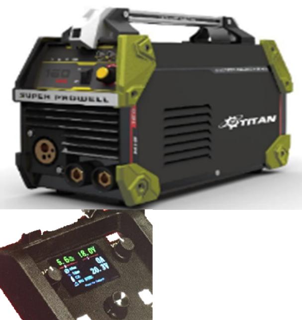 Инверторный полуавтомат Титан PMIG360AL-SMART