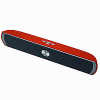 Колонка Kisonli Pterosaur D-007  Bluetooth Stereo Speaker Красная