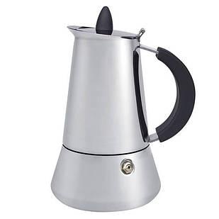 Гейзерная кофеварка Maestro MR-1668-6 600 мл Серебристый