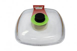 Крышка стеклянная Биол квадратная 280 мм (КС280)