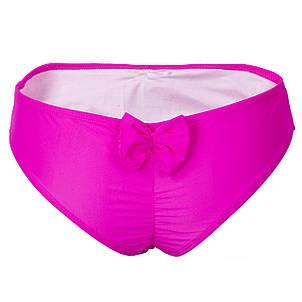 Купальные плавки бант розовые М, фото 2