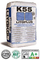 LITOPLUS K55-цементный белый клей