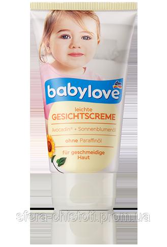 Babylove Мягкий крем для кожи лица Leichte Gesichtscreme 75ml