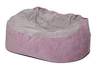 Кресло-мешок KIDIGO Диван ткань Фиолетовый (KMP-DT)