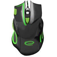 Мышка Esperanza MX401 Hawk black-green (EGM401KG)