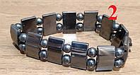 Гематитовый браслет Модель 2 Кровавик камень Гематит Только натуральный камень ! Кровеносная система! 1 шт.