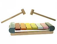 Деревянная игрушка Левеня Cubika Ксилофон LKS-2 (14033R)