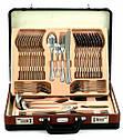 Набор столовых приборов Rönner T5421 satyn 72 шт матовая полировка, фото 3