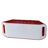 Bluetooth колонка MP3 плеер SPS S204 Red (sp4038)