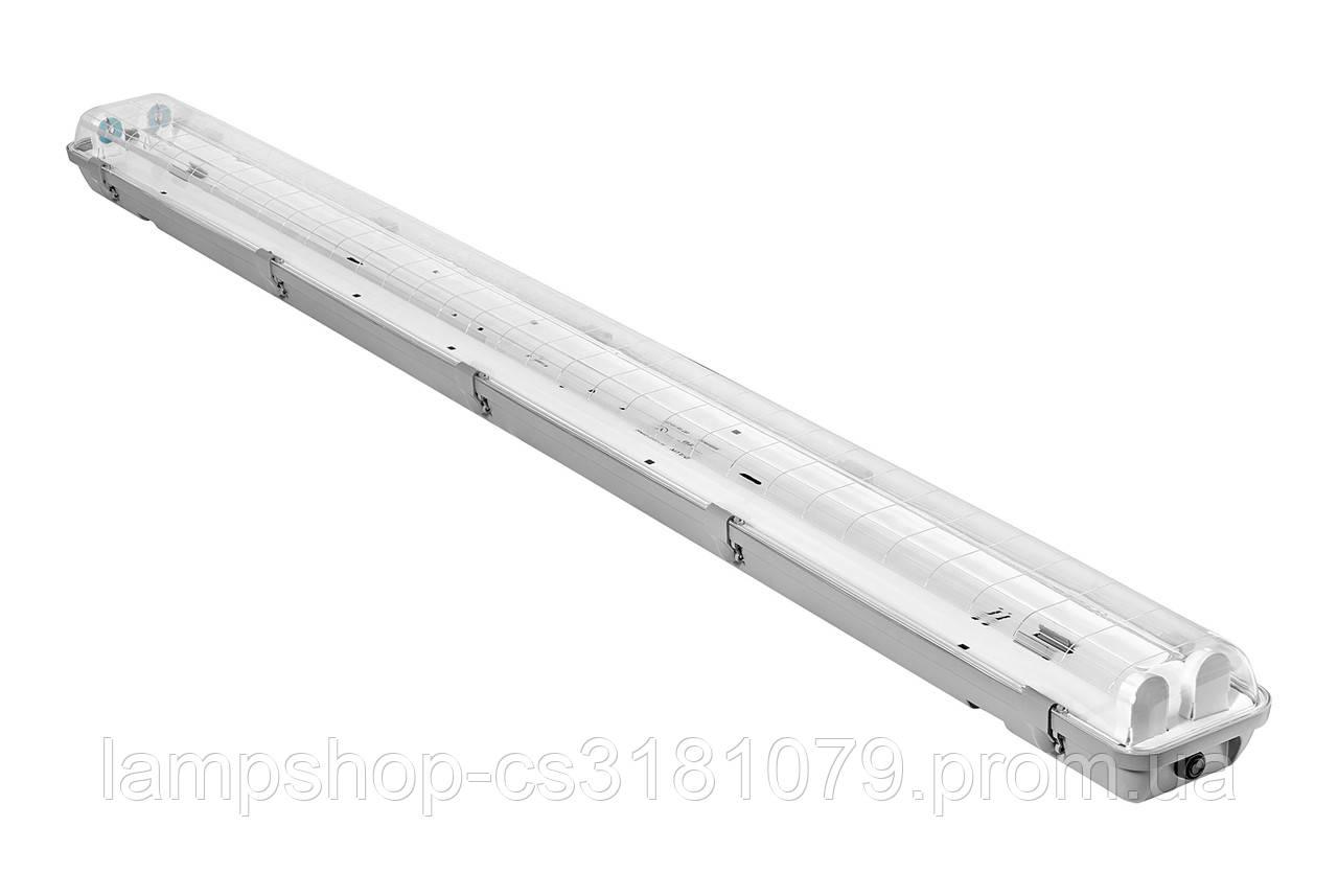Светильник светодиодный промышленный DELUX PC 7 LED (2*1200мм) IP65 G13 без ламп