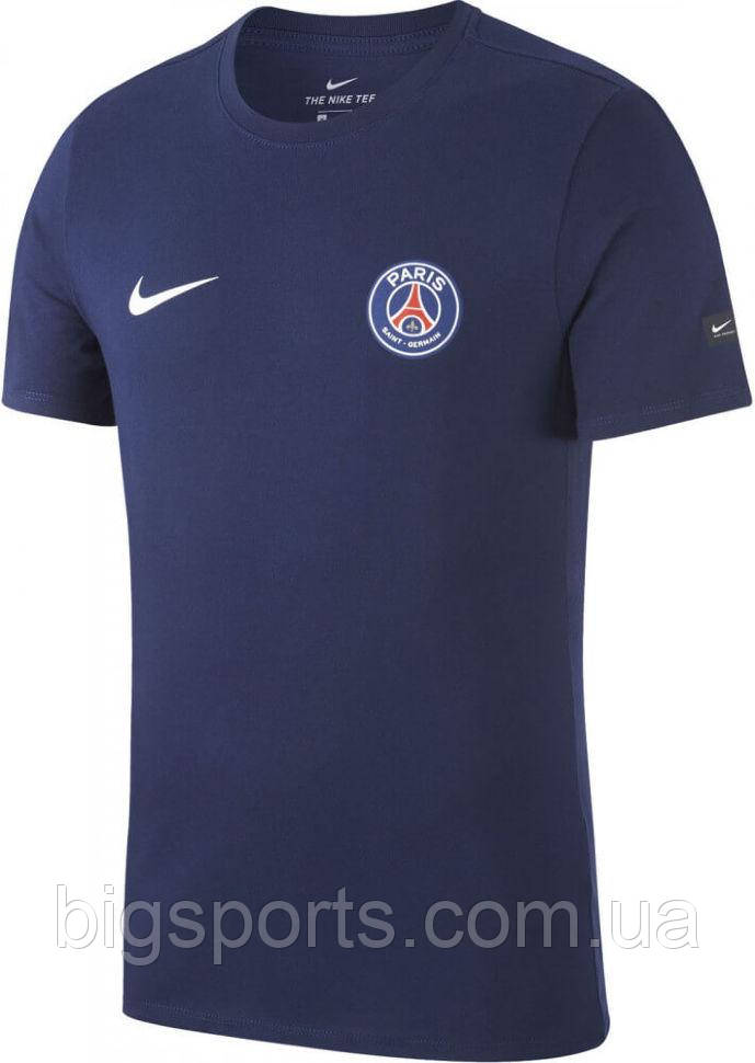 Футболка муж. Nike Psg M Nk Tee Crest (арт. 888803-410)