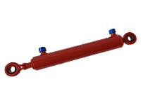 Гидроцилиндр подъема кузова Т-16 Ц40х250-11 (рулевой Т-25, Т-40)