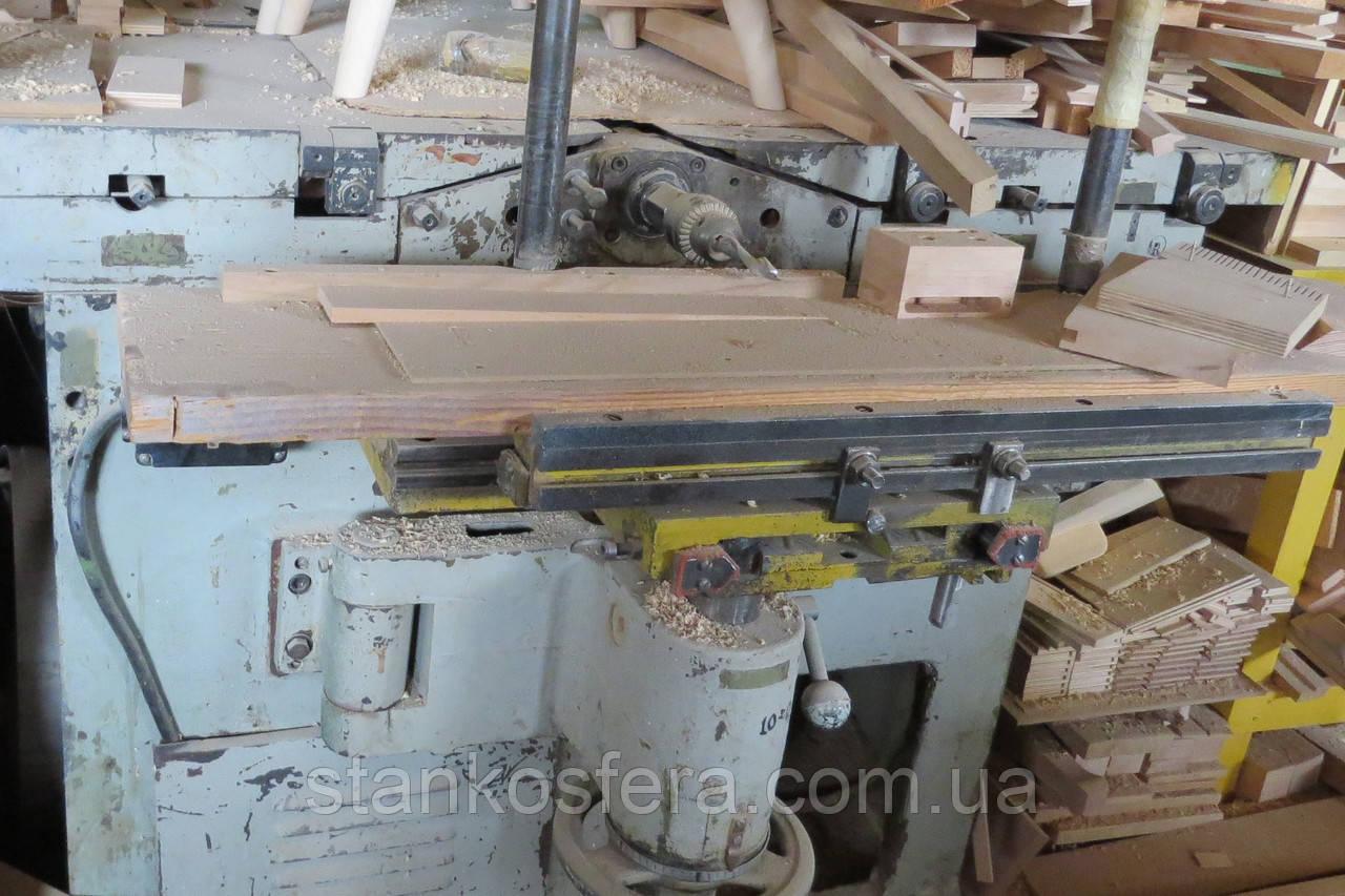 Комбинированный пятиоперационный станок К40 б/у по дереву: циркулярка, фуганок, рейсмус, фрезер, долбежка