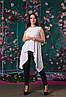 Красивая ассиметричная женская блуза  50, 52, 54, 56, фото 9
