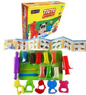 Набор теста для лепки Окто Зоопарк (35477)
